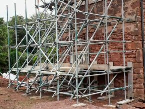 'Raking Shore Scaffold' in Halberton (1 photo)